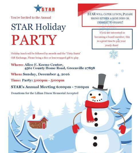 holiday-party-flier