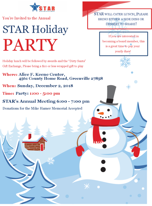 STAR Holiday Party 2018